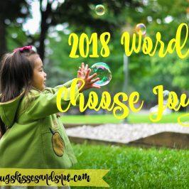 2018 Word: Choose Joy
