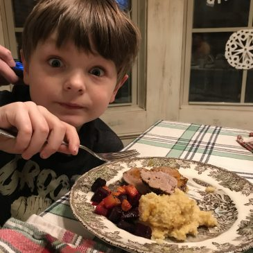 Beets, Cub Scouts, and Cookbooks