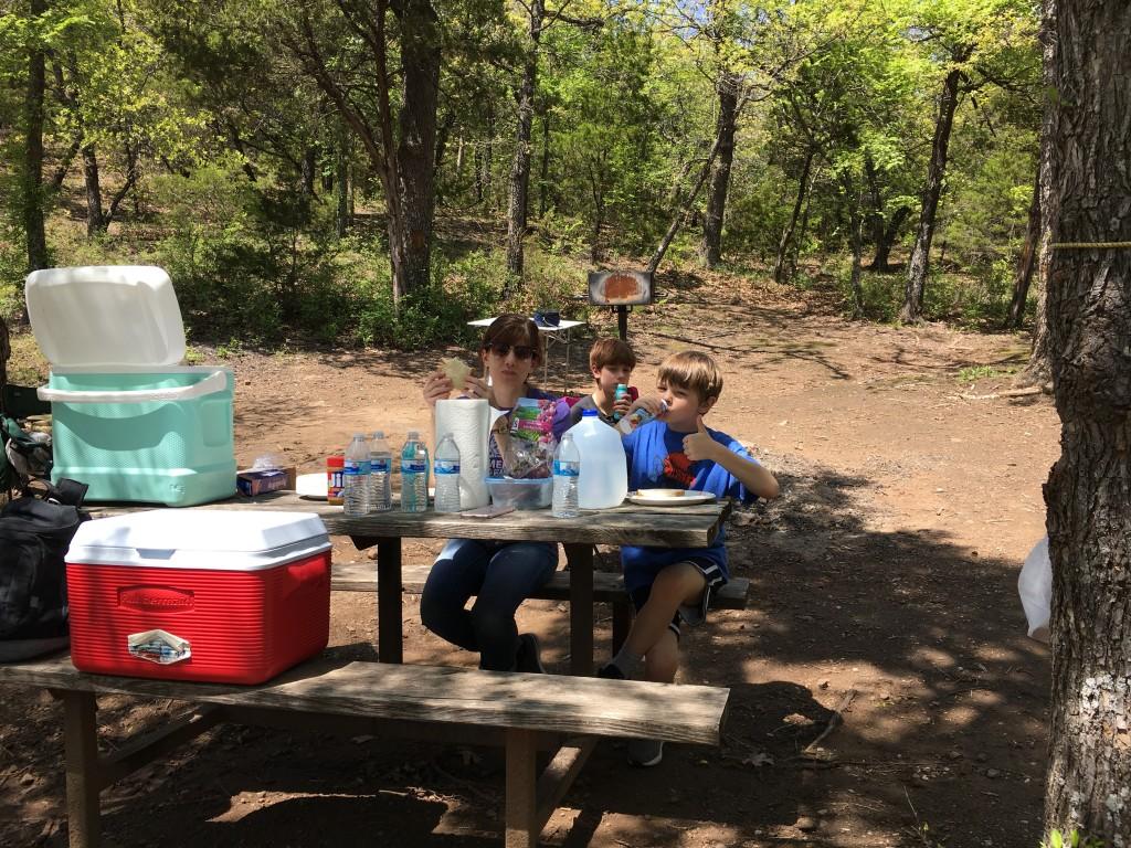 camping turner falls