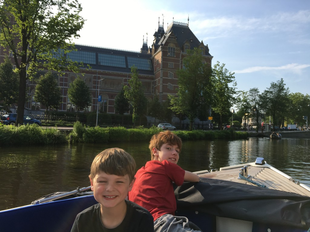 amsterdam with families