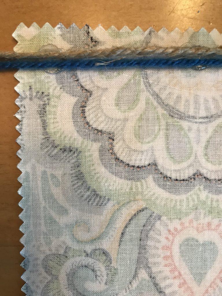 easy fabric bunting