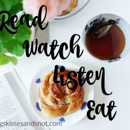 Read Watch Listen Eat – July