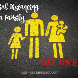 Social Distancing As A Family – Day One