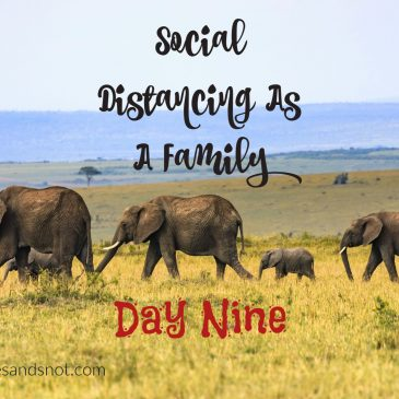 Social Distancing As A Family – Day 9