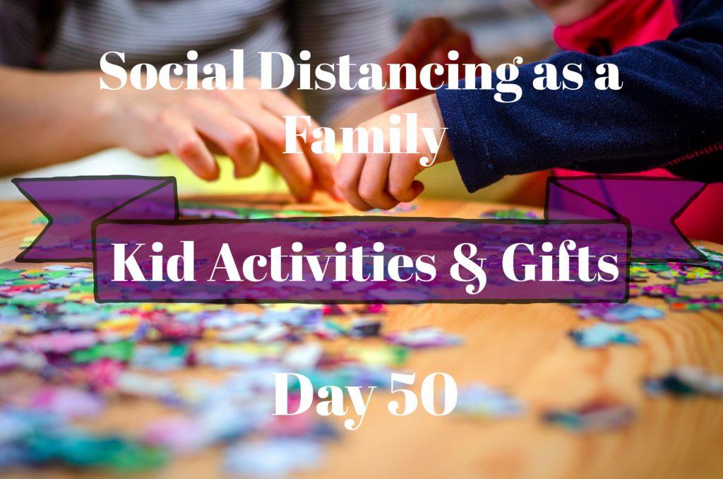 social distancing kid activities