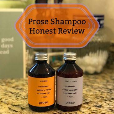 Prose Shampoo Honest Reveiw