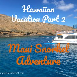 Hawaiian Vacation Part 2 – Maui Snorkel Adventure