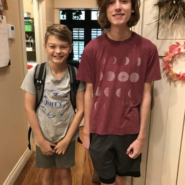 First Day of School – 2021