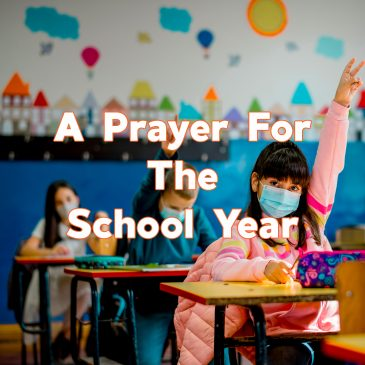 A Prayer For The School Year