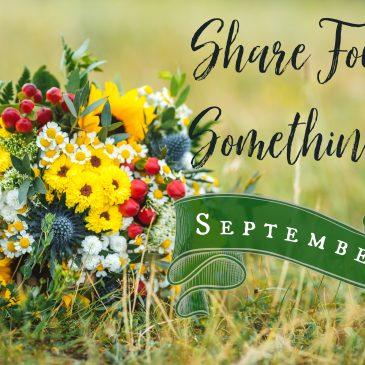 Share Four Somethings – September